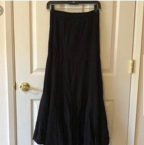 Madewell for Alexa chung black grandma skirt sz 0